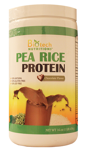 pea rice protein